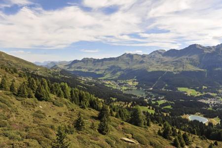 Camping Pradafenz empfiehlt Wandern in Churwalden Lenzerheide Arosa, Schweiz