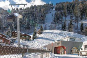 Churwalden Talstation und Camping Pradafenz Empfang