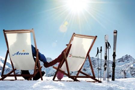 keyvisual-Camping Pradafenz empfiehlt Ski und Snowboard fahren in der Region Arosa Lenzerheide, Graubünden, Schweiz